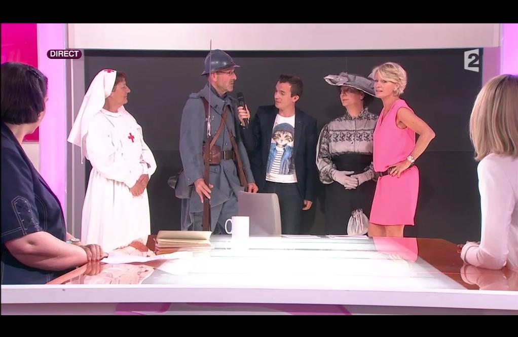 «Connaissance de la Meuse» invités de France 2, «C'est au programme», le 18 juin 2015