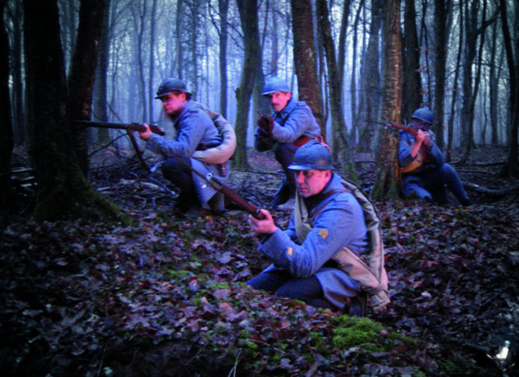 Découvrez les activités de notre groupe de reconstitution de la Grande Guerre «Les Poilus de Verdun»