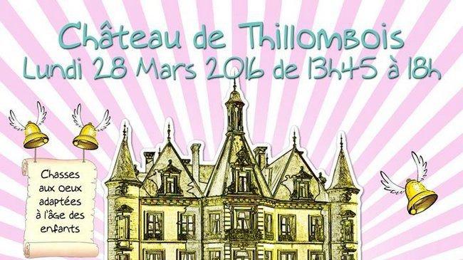 Trésors de Pâques – Lundi 28 mars 2016  au château de Thillombois