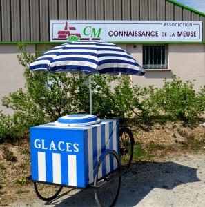 Le stand de glaces