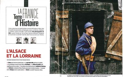 Le magazine GEO édite 4 pages sur le spectacle !