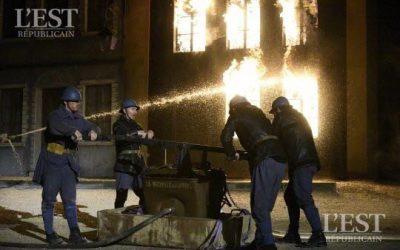 Verdun : le spectacle « Des Flammes à la lumière » en pleine forme