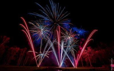 Spectacle Pyrotechnique dans le parc du château