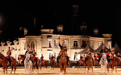 La Garde Républicaine et Hasta Luego au château de Thillombois