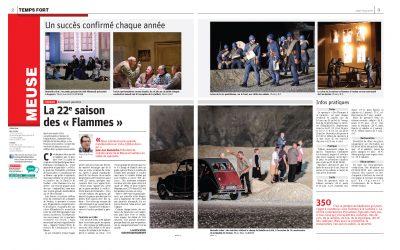 Verdun – Événement – spectacle : La 22e saison des « Flammes »