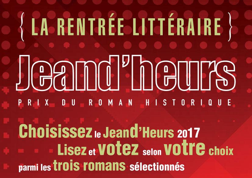 Café-lecture du Prix Jeand'heurs 2017, mercredi 18 octobre à 14h30, Thillombois