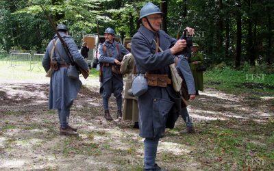 Lachalade Reconstitution historique organisée par Argonne Meuse-Patrimoine