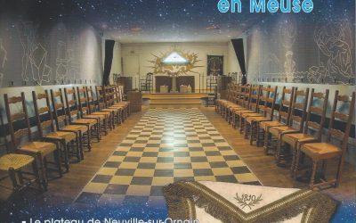 La franc-maçonnerie en Meuse, article extrait de la Revue n° 126 de septembre 2017