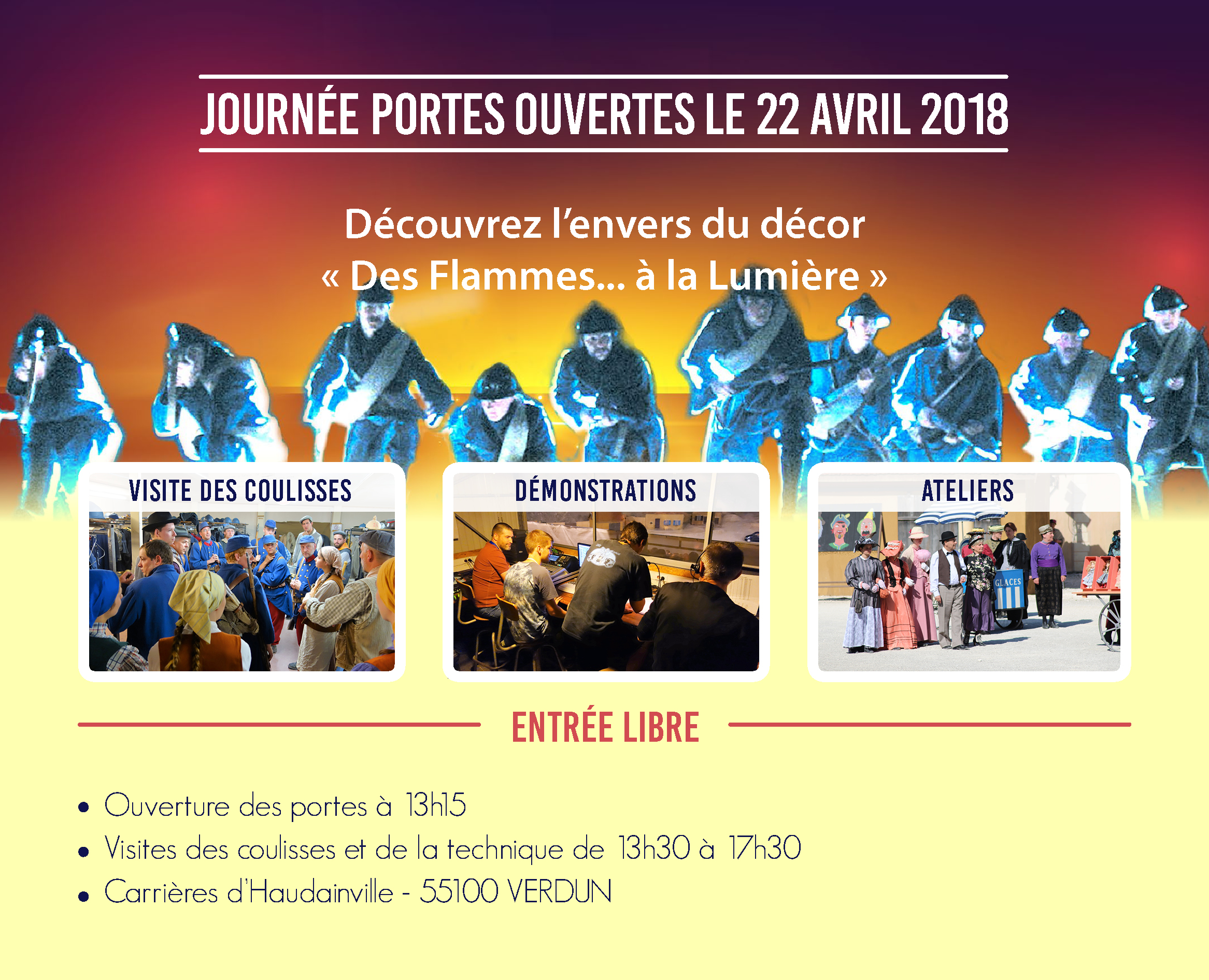 Interview Jean-Luc Demandre sur Radio Fajet Nancy –  Journée Portes Ouvertes 22 avril 2018