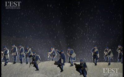 Verdun – Son et lumière Des Flammes et de la lumière L'Événement-Spectacle « Des Flammes… à la Lumière » poursuit ses représentations les 29 et 30 juin, 6, 7, 13, 20, 21, 27 et 28 juillet prochains dans les carrières d'Haudainville. Un son et lumière époustouflant.