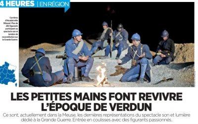 Le Parisien Aujourd'hui en FRANCE du dimanche 22 juillet 2018 «Les petites mains font revivre l'époque de Verdun»
