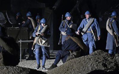Verdun Des Flammes… à la lumière : plongez dans l'histoire Le jeu des acteurs est très important pour la beauté de l'événement-spectacle