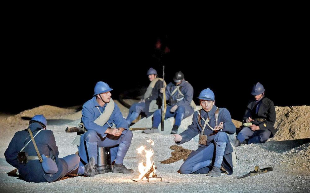 À Verdun, plus de 250 figurants font revivre la Grande Guerre