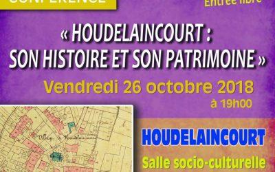 Conférence «Houdelaincourt : son histoire et son patrimoine»