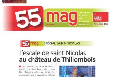 L'escale de Saint-Nicolas au Château de Thillombois