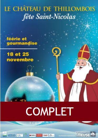 La manifestation Saint Nicolas affiche complet le 18 et 25 novembre