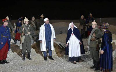 Pour sa 26ème édition «Des Flammes à la lumière», Connaissance de la Meuse organise un casting d'acteurs-figurants bénévoles  dans les carrières d'Haudainville à côté de Verdun en Meuse. Un casting ouvert à tous.