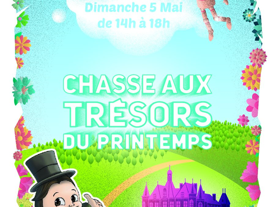 Château de Thillombois – Chasse au trésor Dimanche 5 mai 2019 de 14h à 18h