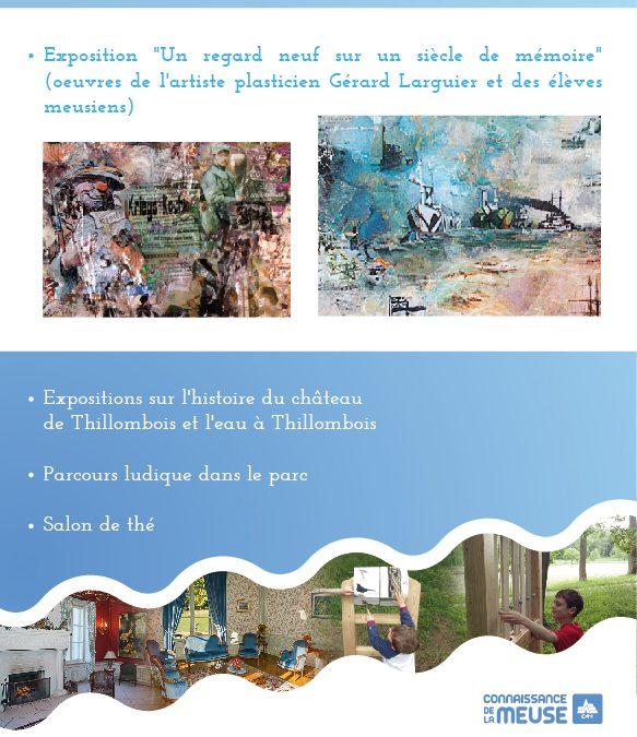 Thillombois : Encore deux occasions de voir les expositions au château