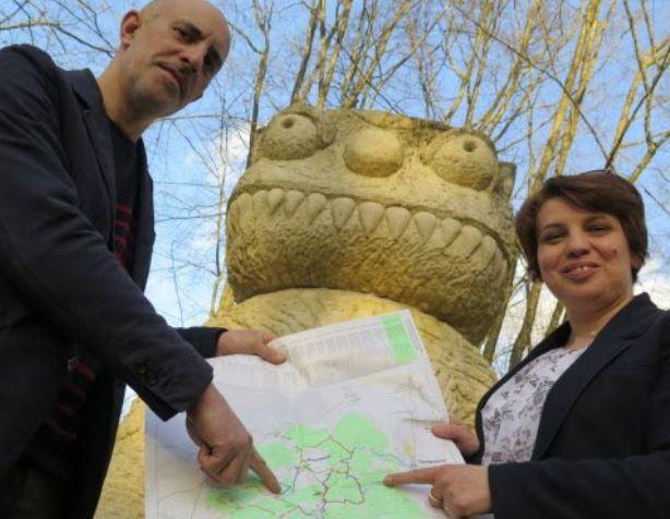 Pascal Yonet, directeur du Vent des Forêts, et Anca-Mirela Miron, directrice adjointe de Connaissance de la Meuse, entendent pérenniser la manifestation en collaboration avec l'association Benoîte-Vaux Accueil