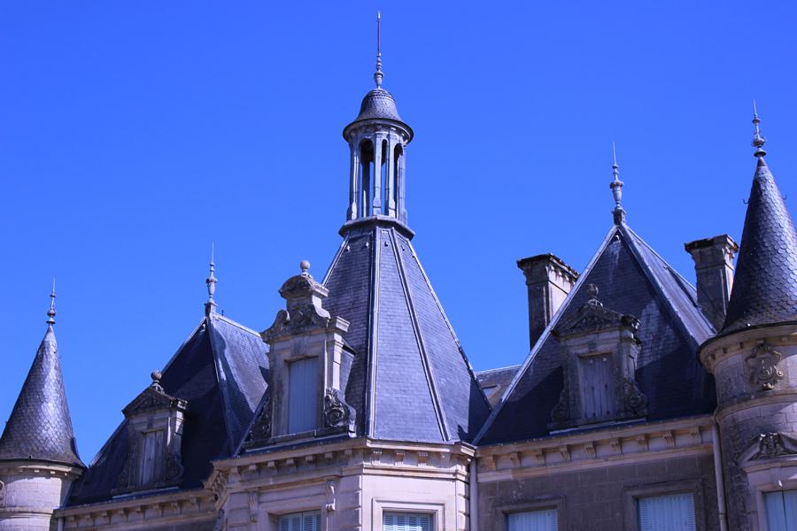 Restauration de la toiture du château de Thillombois