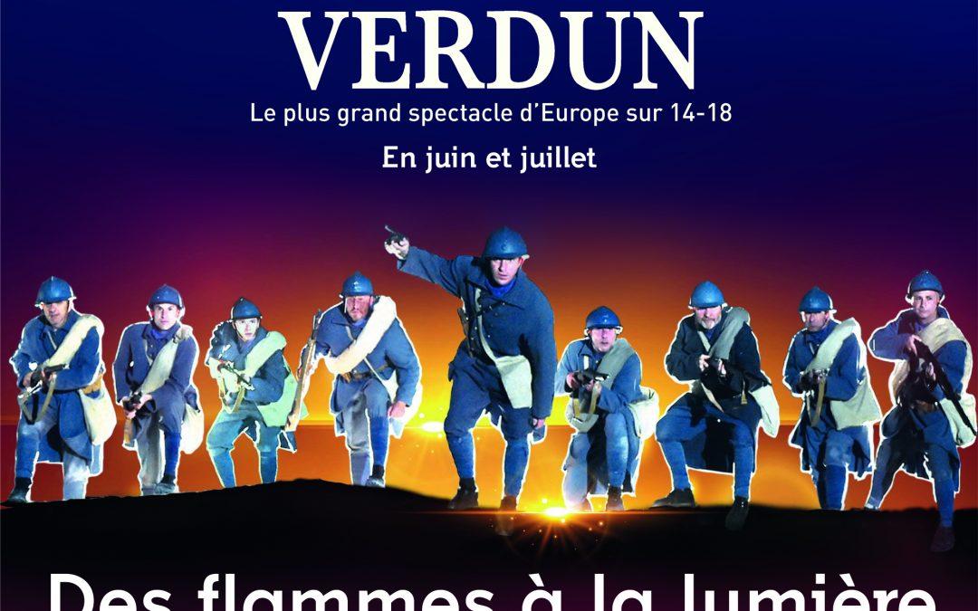 Vivez un moment d'émotion exceptionnelle ! Entrez dans le son et lumière de la bataille de Verdun