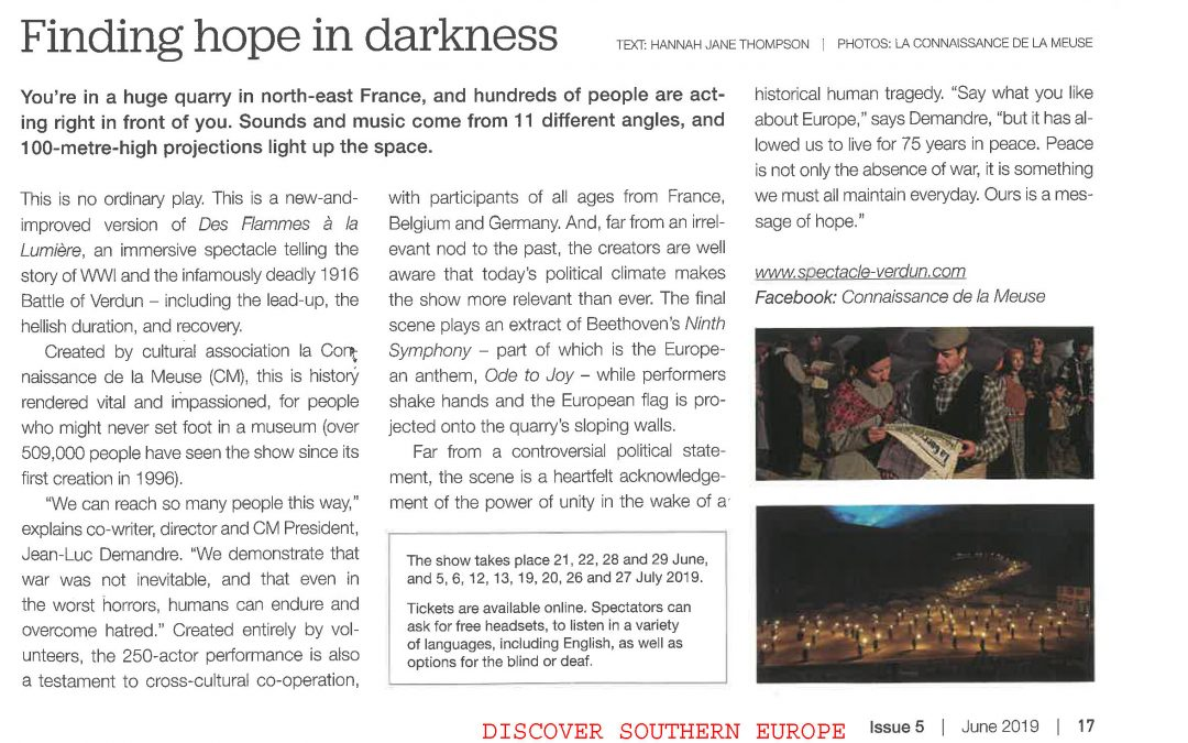 FINDING HOPE IN DARKNESS