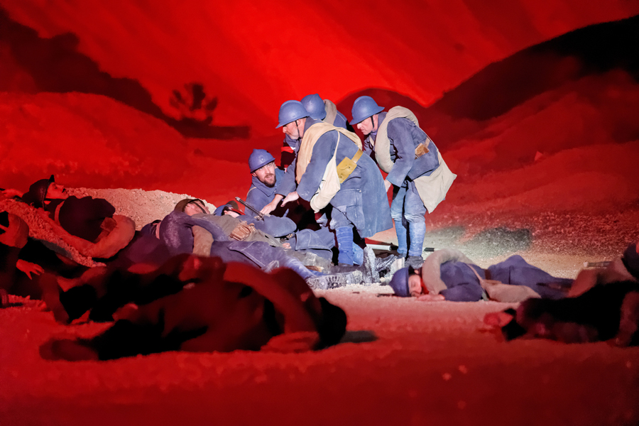 Préparez-vous à vivre l'émotion d'une fresque grandiose avec le plus grand Spectacle d'Europe sur la Bataille de Verdun.