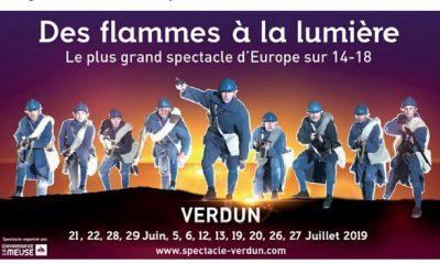 Gagnez vos places pour une représentation du spectacle «Des Flammes à la lumière» !