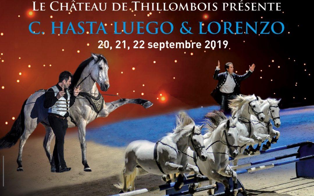 Repas sur place au château de Thillombois – Biennale Equestre 20, 21, 22 septembre 2019