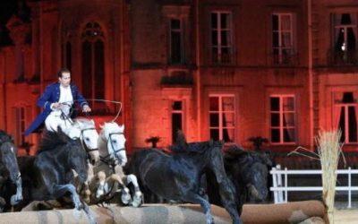45 Photos : la première soirée du spectacle de la 4e biennale équestre de Thillombois (Meuse)