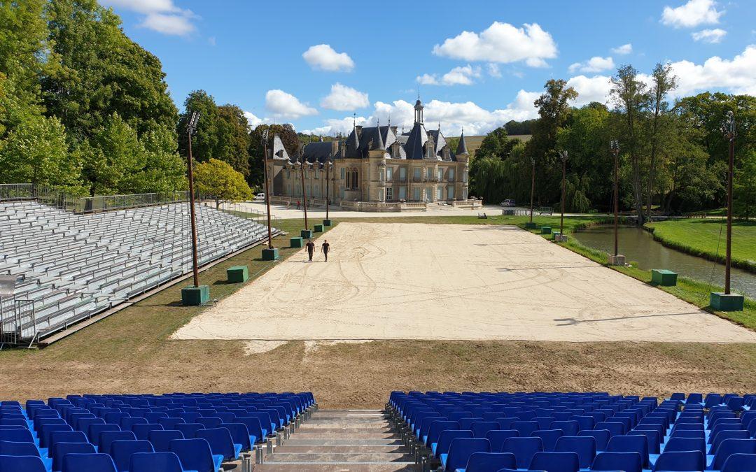 J-7 ! Le château de Thillombois reçoit C.Hasta Luego & Cie ainsi que Lorenzo pour une production évènementielle exceptionnelle dans l'Est de la France