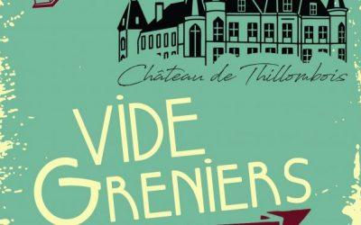 1er vide-greniers au château de Thillombois dimanche 13 octobre 2019