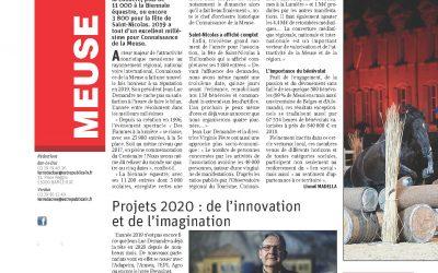 Connaissance de la Meuse, un grand cru. Projets 2020 : de l'innovation et de l'imagination