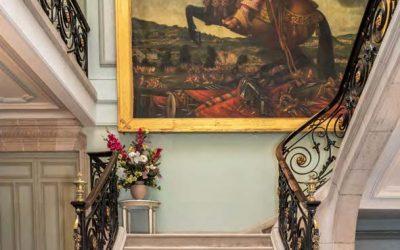 LE PROJET DE RESTAURATION Tableau de Madame de Saint-Balmont du château de Thillombois