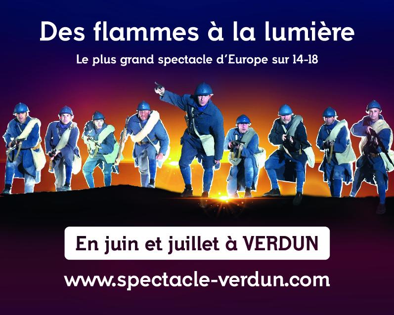 70 tableaux retraceront sous vos yeux le destin croisé de combattants et de civils, français et allemands, de la Belle Époque à la 1ère Guerre Mondiale ; de la Bataille de Verdun à l'Armistice ; de 1927 jusqu'à nos jours.