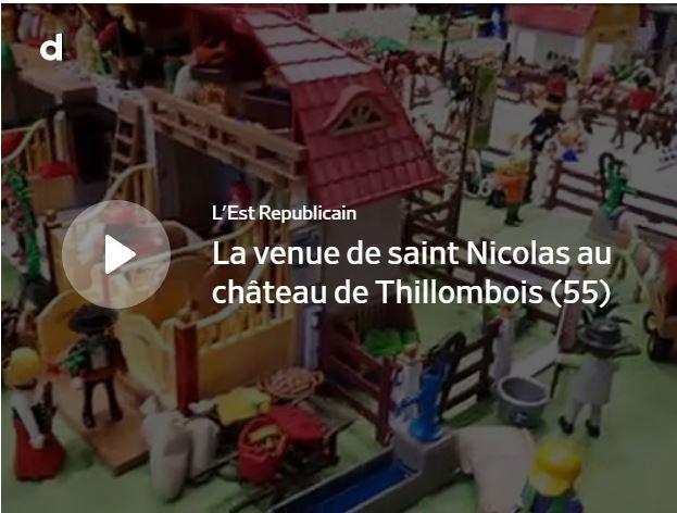 Vidéo Thillombois : saint Nicolas entre féerie et gourmandise