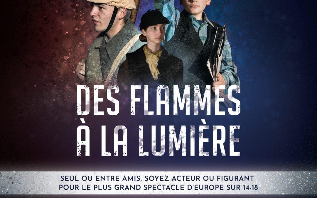 Grand Casting Acteurs-Figurants le samedi 7 mars 2020