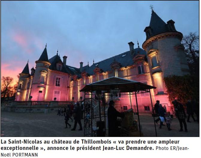 La Saint-Nicolas au château de Thillombois «va prendre une ampleur exceptionnelle»