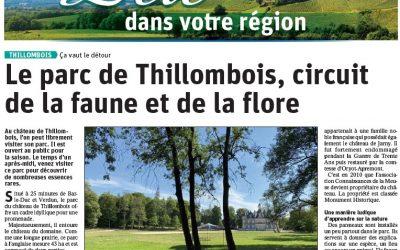 Le parc du château de Thillombois, circuit de la faune et de la flore
