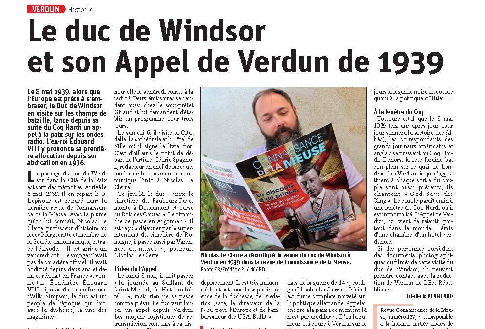 L'appel de Verdun du duc de Windsor