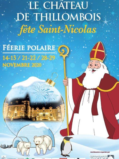 FEERIE POLAIRE AU CHATEAU DE THILLOMBOIS les 14-15/21-22/28-29 novembre 2020