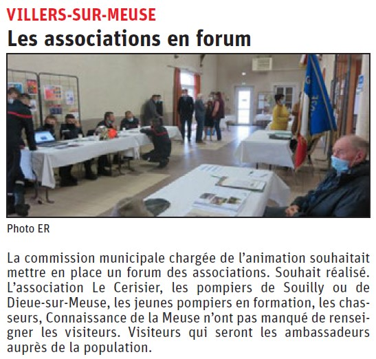 Les associations en forum à Villers-sur-Meuse