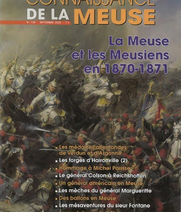 La Meuse et les Meusiens en 1870/1871