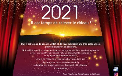 2021 il est temps de relever le rideau !