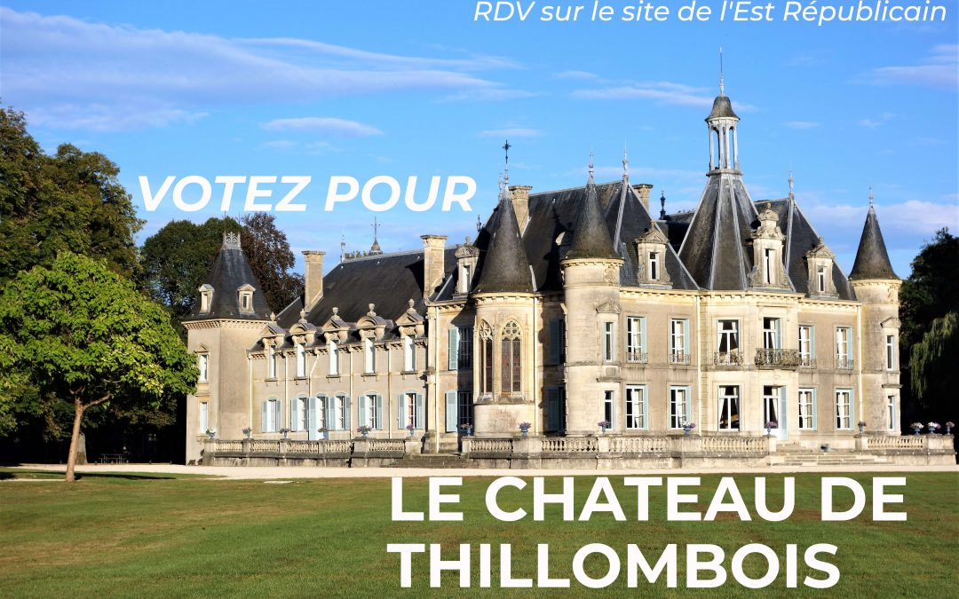 Votez pour le château de Thillombois ! Ce magnifique château Renaissance est situé à Thillombois, en plein cœur de la Meuse. Son parc de 43 hectares lui offre un cadre exceptionnel.