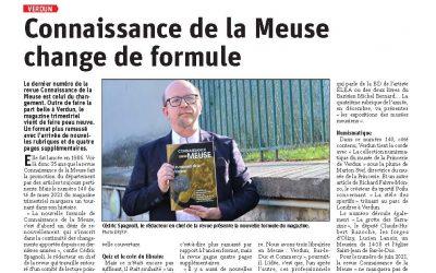 Revue de presse : Connaissance de la Meuse change de formule