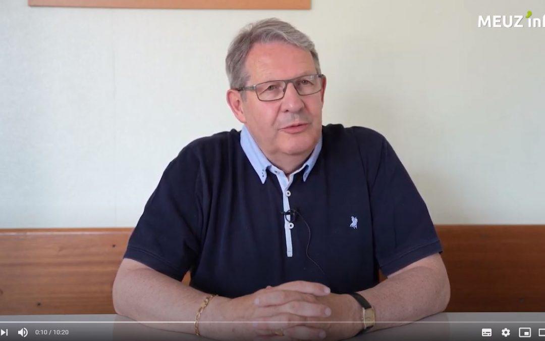 MEUZ'INFO A voir sur youtube l'interview de M. Jean-Luc Demandre,  président de Connaissance de la Meuse