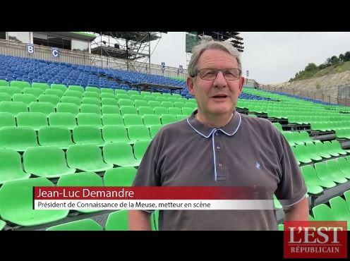 Jean-Luc Demandre est le président de l'association Connaissance de la Meuse, qui organise le spectacle « Des flammes à la lumière ». La jauge avait été limité à 999 personnes dans un premier temps. Mais l'instauration du pass sanitaire a tout modifié.