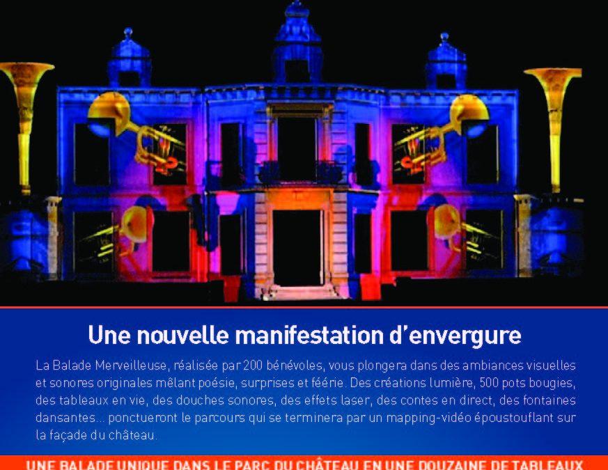 Une nouvelle manifestation d'envergure au château de Thillombois en septembre